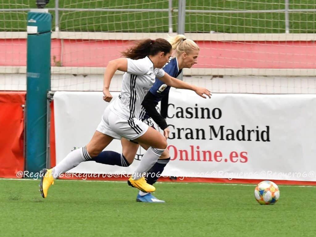 Ingrid Moe Wold i aksjon for Madrid CFF